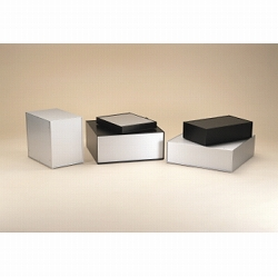 タカチ電機工業 OS44-43-55BS 直送 代引不可・他メーカー同梱不可 OS型アルミサッシケース OS444355BS