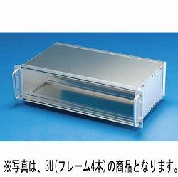 タカチ電機工業 NSH133-43-37E 直送 代引不可・他メーカー同梱不可 NSH型取手付サブラック NSH1334337E