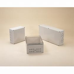 タカチ電機工業 OPCM303018G 直送 代引不可・他メーカー同梱不可 OPCM型防水・防塵ポリカーボネネートボックス OPCM-303018G