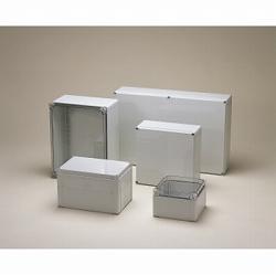 タカチ電機工業 [OPCP204018T] 「直送」【代引不可・他メーカー同梱不可】OPCP型防水・防塵ポリカーボネートボックス OPCP-204018T