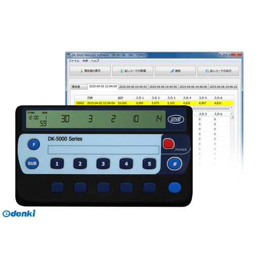 【個数:1個】ライン精機 LINE DK-5010A 電子数取器 DK5010A