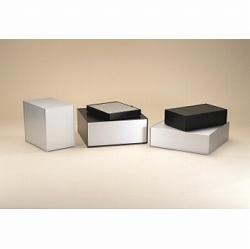 タカチ電機工業 OS249-50-43BS 直送 代引不可・他メーカー同梱不可 OS型アルミサッシケース OS2495043BS