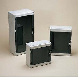 タカチ電機工業 RPCP304013 直送 代引不可・他メーカー同梱不可 RPCP型防水・防塵モジュラーカバー付ポリカーボネートボックス RPCP-304013