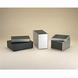タカチ電機工業 SL222-16-23BS 直送 代引不可・他メーカー同梱不可 SL型アルミサッシケース SL2221623BS