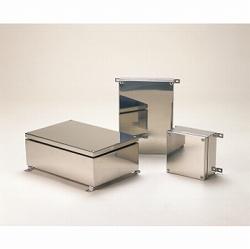 タカチ電機工業 SLB121508 直送 代引不可・他メーカー同梱不可 SLB型外部取付足付防水・防塵ステンレスボックス SLB-121508