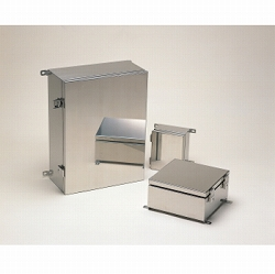 タカチ電機工業 SLM151508 直送 代引不可・他メーカー同梱不可 SLM型外部取付足付開閉式防水・防塵ステンレスボックス SLM-151508