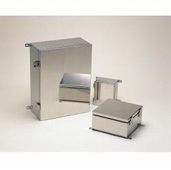 タカチ電機工業 SLM202812 直送 代引不可・他メーカー同梱不可 SLM型外部取付足付開閉式防水・防塵ステンレスボックス SLM-202812
