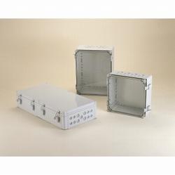 タカチ電機工業 WPCM304013G 直送 代引不可・他メーカー同梱不可 WPCM型防水・防塵ポリカーボネート開閉式ボックス WPCM-304013G