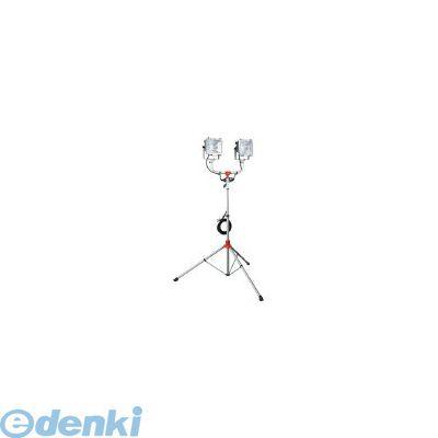 【あす楽対応】【個数:1個】ハタヤリミテッド ハタヤ PHCX505KN 防雨型スタンド付ハロゲンライト 500W×2灯453-8617 【送料無料】