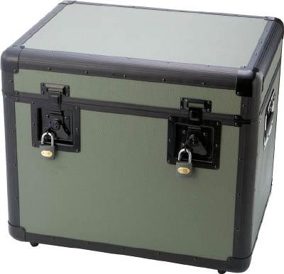 トラスコ中山 TRUSCO TAC540OD 万能アルミ保管箱 オリーブドラブ 543X 416-2986
