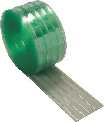 【個数:1個】トラスコ中山 TRUSCO TSR22030 ストリップ型リブ付き間仕切りシート静電透明 447-3850