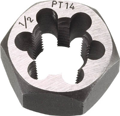 トラスコ中山 TRUSCO TD678PT14 六角サラエナットダイス PT7/8-14 432-9210