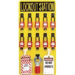 【あす楽対応】パンドウイットコーポレーション パンドウイット PSL10SWCA ロックアウトステーションキット 10人用