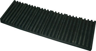 トラスコ中山 TRUSCO OHL15600CR 防振パット 耐熱・耐油性 ベルトタイプ 15X600X1000【送料無料】