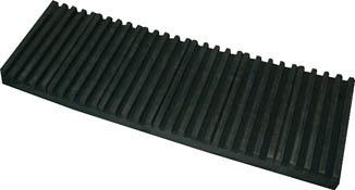 トラスコ中山 TRUSCO OHL20600CR 防振パット 耐熱・耐油性 ベルトタイプ 20X600X1000