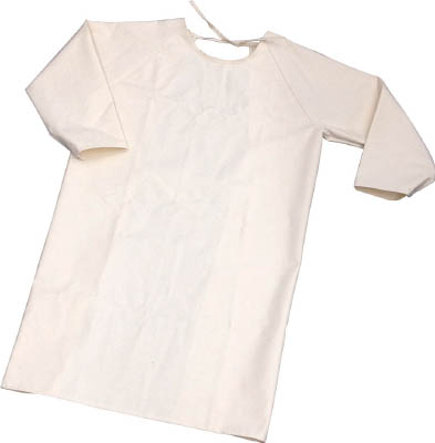 トラスコ中山 TRUSCO TBKSMKL 難燃加工綿保護具 袖付前掛け Lサイズ【送料無料】