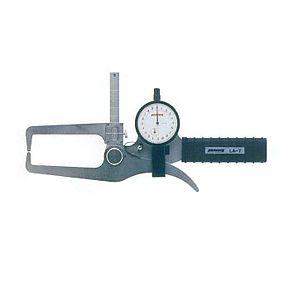 尾崎製作所 PEACOCK LA-7 ダイヤルキャリパーゲージ LA 外測 タイプ 外径・厚さ測定用 ピーコック PK132002 LA7