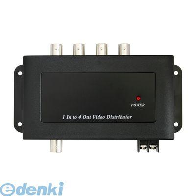 【個数:1個】 NSE802 直送 代引不可・他メーカー同梱不可 映像分配器 4分配