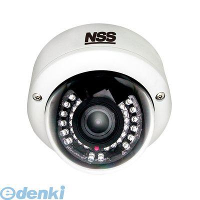 NSC-HDP7033VP-F 直送 代引不可・他メーカー同梱不可 ワンケーブルフルHD防水暗視耐衝撃バリフォーカルドームカメラ f=3.0~10.0mm/F1.3 20m 赤外線照射距離 Panasonic CMOS