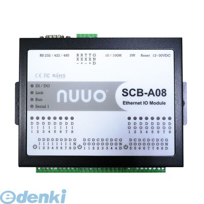 SCB-A08 直送 代引不可・他メーカー同梱不可 NUUO NVR用 IO ボックス SCBA08