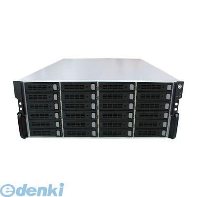 NVE244U 直送 代引不可・他メーカー同梱不可 iSCSI対応ストレージ 24ベイ4U19インチラックマウントサイズ