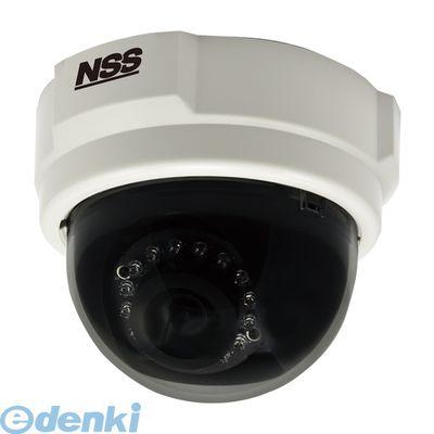 【個数:1個】 NSC-IP1030-3M 直送 代引不可・他メーカー同梱不可 3メガピクセルドーム型ネットワークカメラ f=3.6mm NSCIP10303M