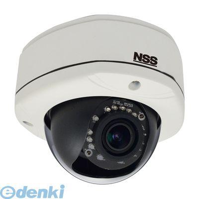 NSC-IP1032-5M 直送 代引不可・他メーカー同梱不可 5メガピクセル防水暗視バリフォーカルドーム型ネットワークカメラ f=2.8mm~12.0mm 15m 赤外線照射距離 NSCIP10325M