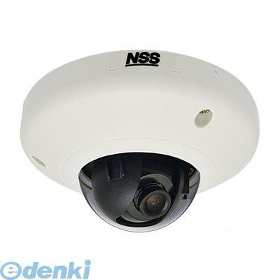 【個数:1個】 NSC-IP1033-3M 直送 代引不可・他メーカー同梱不可 3メガピクセルミニドーム型ネットワークカメラ f=2.93mm NSCIP10333M