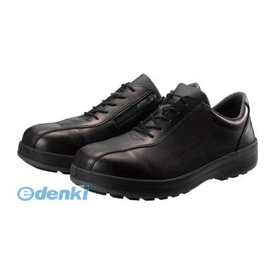シモン Simon 8512C260 耐滑・軽量3層底安全短靴8512黒C付 26.0cm