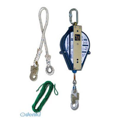 藤井電工 ツヨロン UL12SBX ウルトラロック12メートル 台付・引寄ロープ付 360-5809
