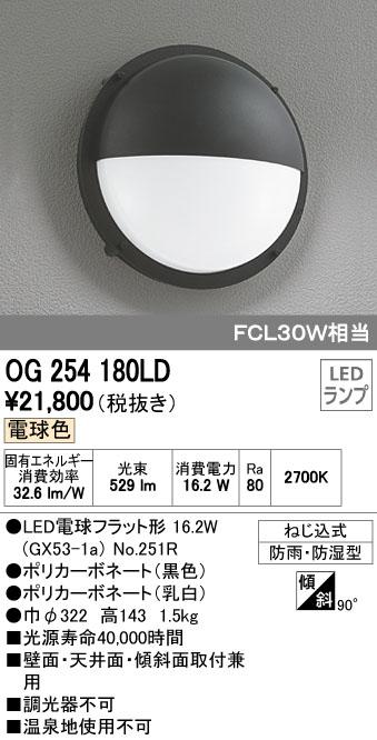 オーデリック ODELIC OG254180LD LEDエクステリアライト【送料無料】