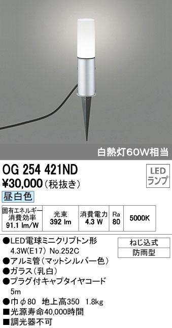オーデリック ODELIC OG254421ND LEDガーデンライト【送料無料】