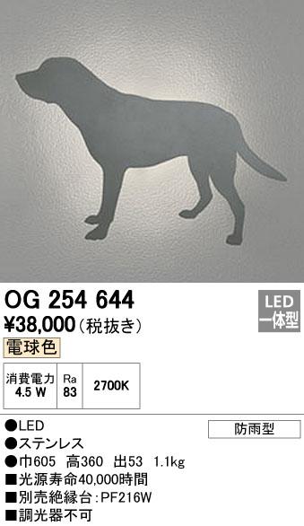 オーデリック ODELIC OG254644 LEDポーチライト【送料無料】
