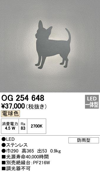 オーデリック ODELIC OG254648 LEDポーチライト【送料無料】