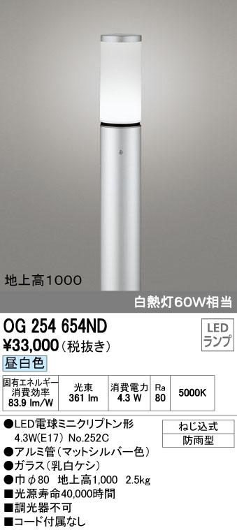 オーデリック ODELIC OG254654ND LEDガーデンライト【送料無料】