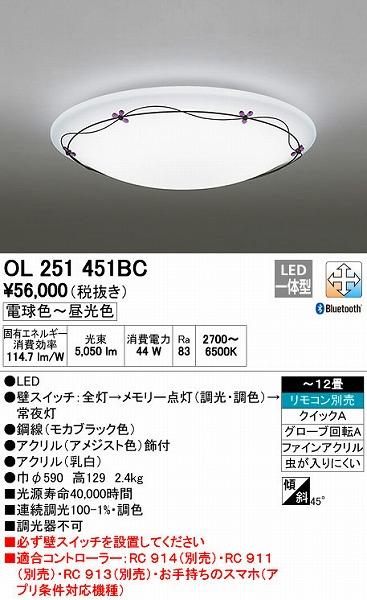 オーデリック(ODELIC) [OL251451BC] LEDシーリングライト【送料無料】