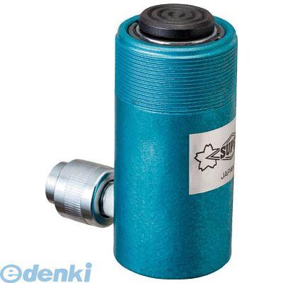 数量は多い  単動式:測定器・工具のイーデンキ 油圧シリンダ スーパー HC10S50-DIY・工具