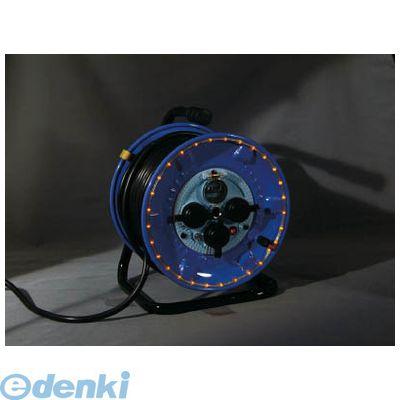 日動 NPWLEK33R 防雨型電工ドラム LEDラインドラム 赤
