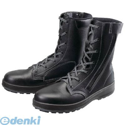 シモン WS33C25.5 安全靴 長編上靴 WS33黒C付 25.5cm【送料無料】