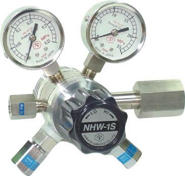 NHW1SLTRC 直送 代引不可・他メーカー同梱不可 分析機用フィン付二段微圧調整器 NHW-1SL