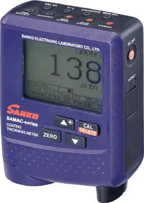 サンコウ SAMACPRO 直送 代引不可・他メーカー同梱不可 プローブ一体型デュアルタイプ膜厚計 SAMAC-PRO【送料無料】