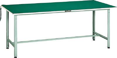 トラスコ中山 TRUSCO AE1800DW 直送 代引不可・他メーカー同梱不可 帯電防止マット張りAE型作業台 1800X750 W色