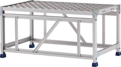 アルインコ CSBC158S 直送 代引不可・他メーカー同梱不可 作業台 天板縞板タイプ 1段