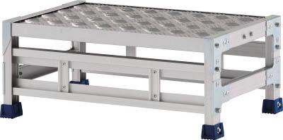 アルインコ CSBC123WS 直送 代引不可・他メーカー同梱不可 作業台 天板縞板タイプ 1段