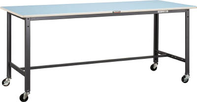 トラスコ中山 TRUSCO BE1575C75 直送 代引不可・他メーカー同梱不可 BE型軽量作業台 1500X750 車輪付