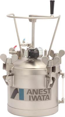 アネスト岩田 COT10HL 直送 代引不可・他メーカー同梱不可 ステンレス加圧タンク 手動攪拌器付仕様 10L