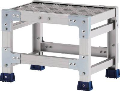 アルインコ CSBC138S 直送 代引不可・他メーカー同梱不可 作業台 天板縞板タイプ 1段
