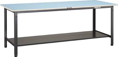 トラスコ中山 TRUSCO BE0975LT2 直送 代引不可・他メーカー同梱不可 BE型軽量作業台 900X750 下棚2枚付