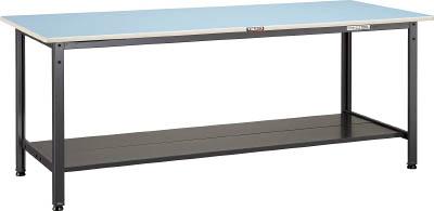 トラスコ中山 TRUSCO BE1875LT2 直送 代引不可・他メーカー同梱不可 BE型軽量作業台 1800X750 下棚2枚付