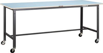 トラスコ中山 TRUSCO BE1875C75 直送 代引不可・他メーカー同梱不可 BE型軽量作業台 1800X750 車輪付